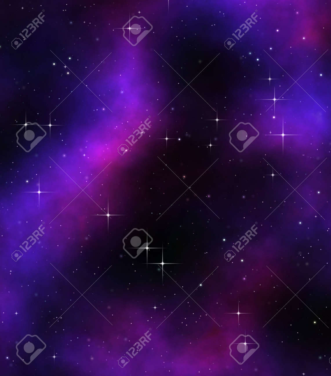 great image of stars in deep or outer space Stock Photo - 5471439