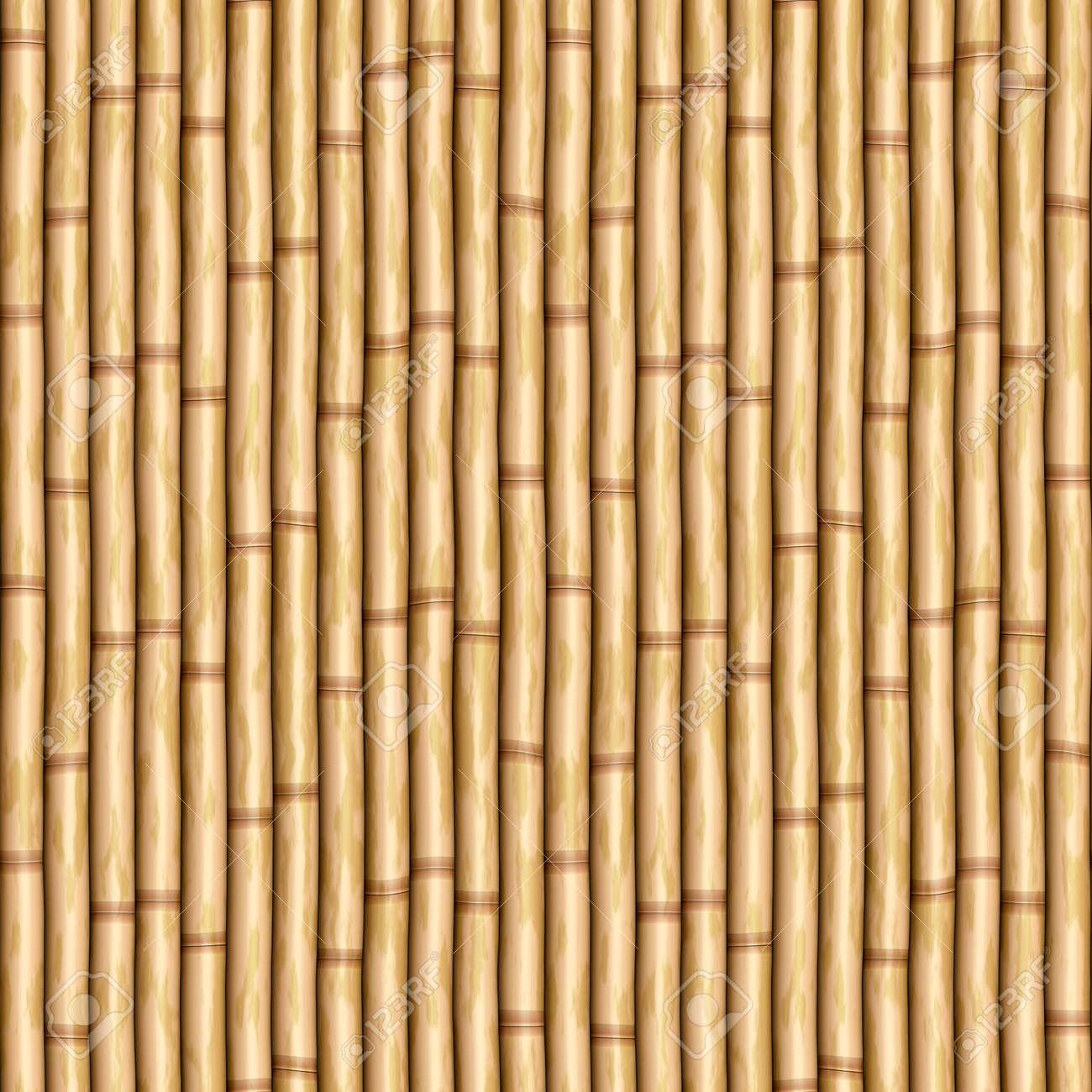 Bamboo Poles As Wall Or Curtain Royalty Free Cliparts, Vectors, And ...