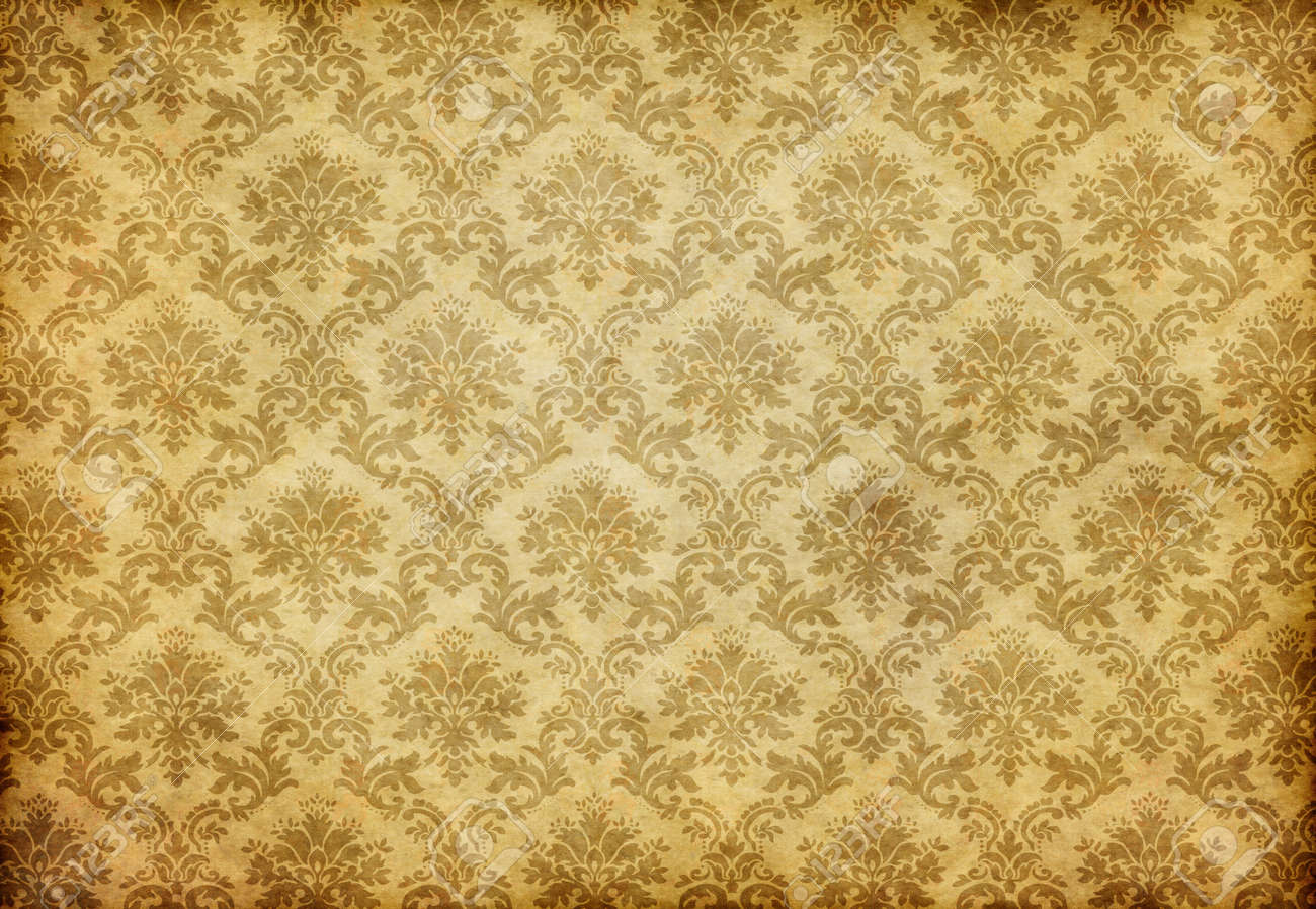 Great Retro Background Of Some Old Dirty And Grungy Wallpaper Stock Photo