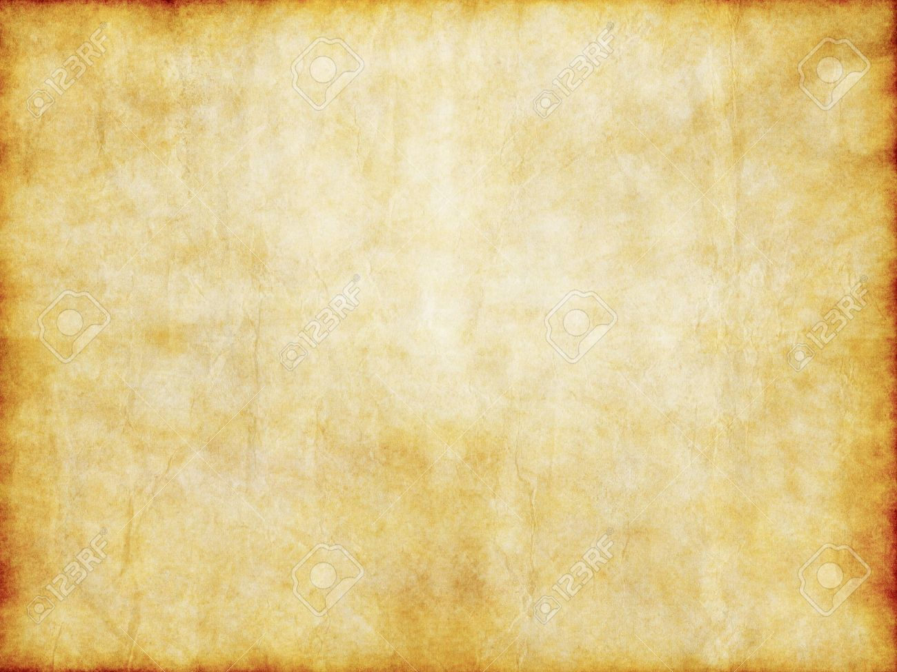 grungy old yellow brown vintage parchment paper texture stock photo
