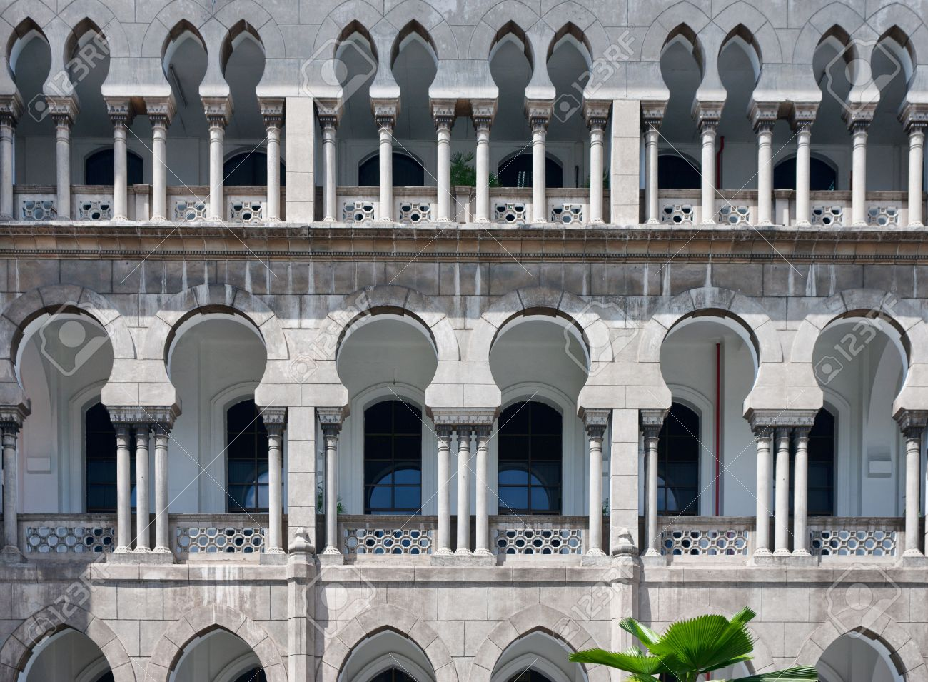 moorish architecture in malaysia stock photo picture and royalty
