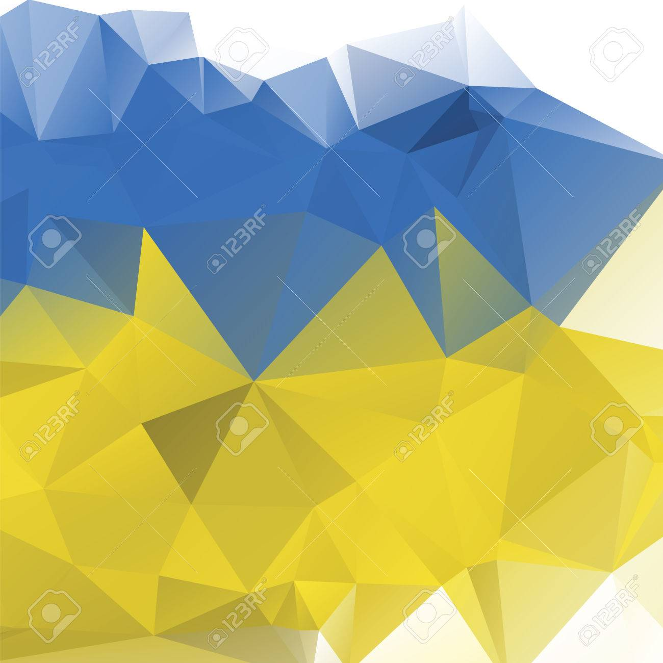 Website soft colors - Triangle Background Vector Polygon Art Soft Colored Abstract Illustration Web Mobile Interface Template