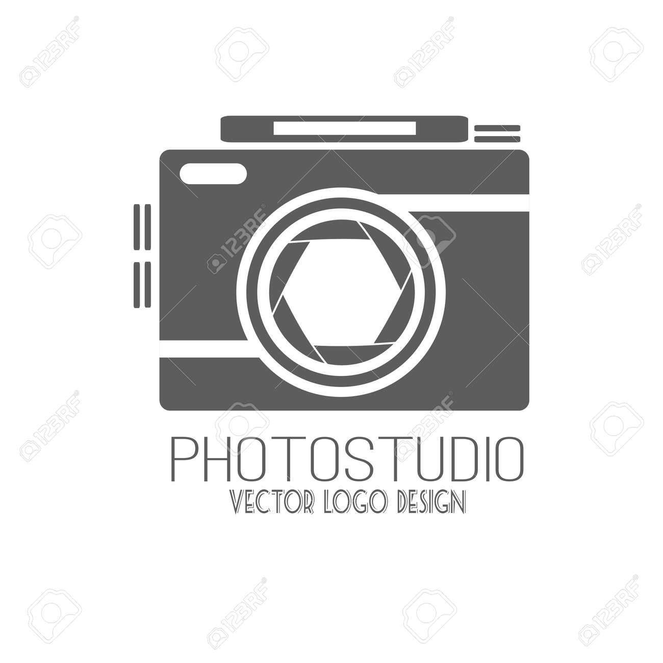 Vector collection of photography logo templates. Photocam logotypes. Photography vintage badges and icons. Modern mass media icons. Photo labels. - 42495201