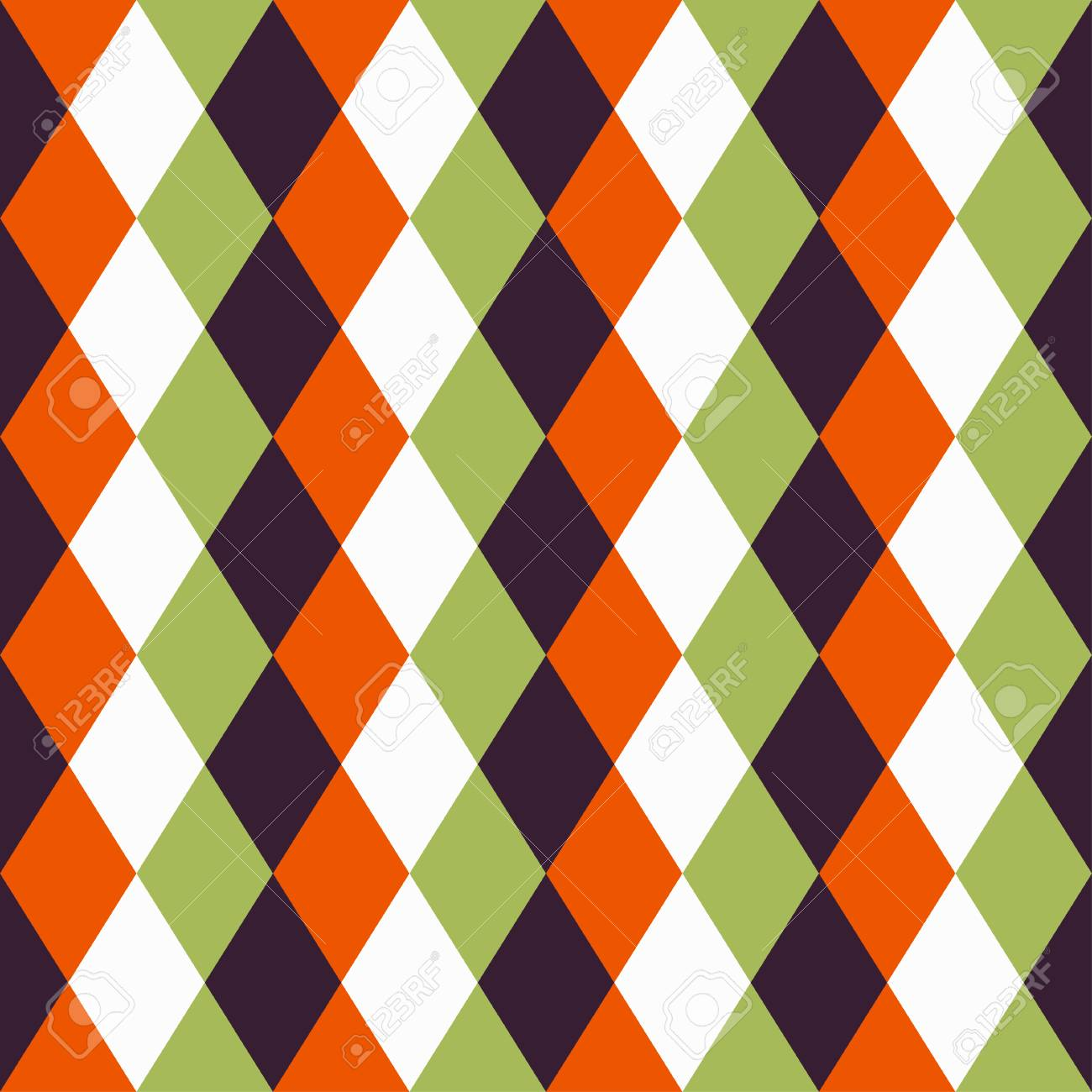 Happy Halloween Background. Seamless pattern. Collection of seamless patterns in the traditional holiday colors. - 44353671