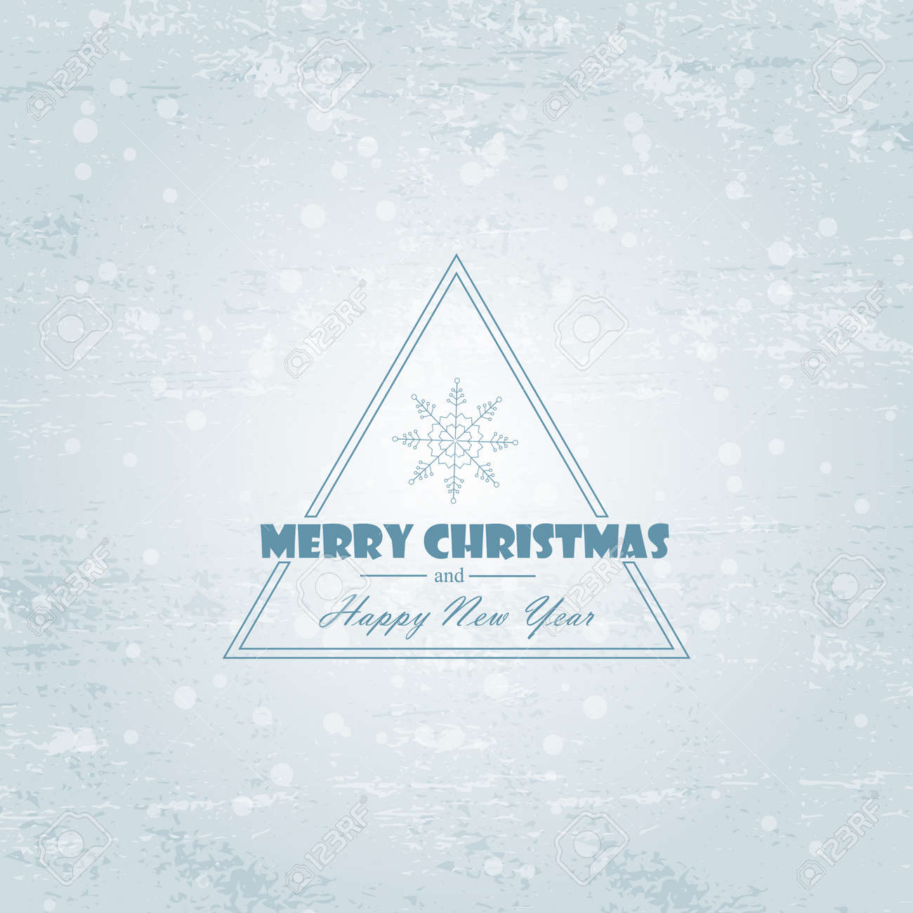 Christmas Light Vector Background Card Or InvitationChristmas Paper With And Black Vignette Border
