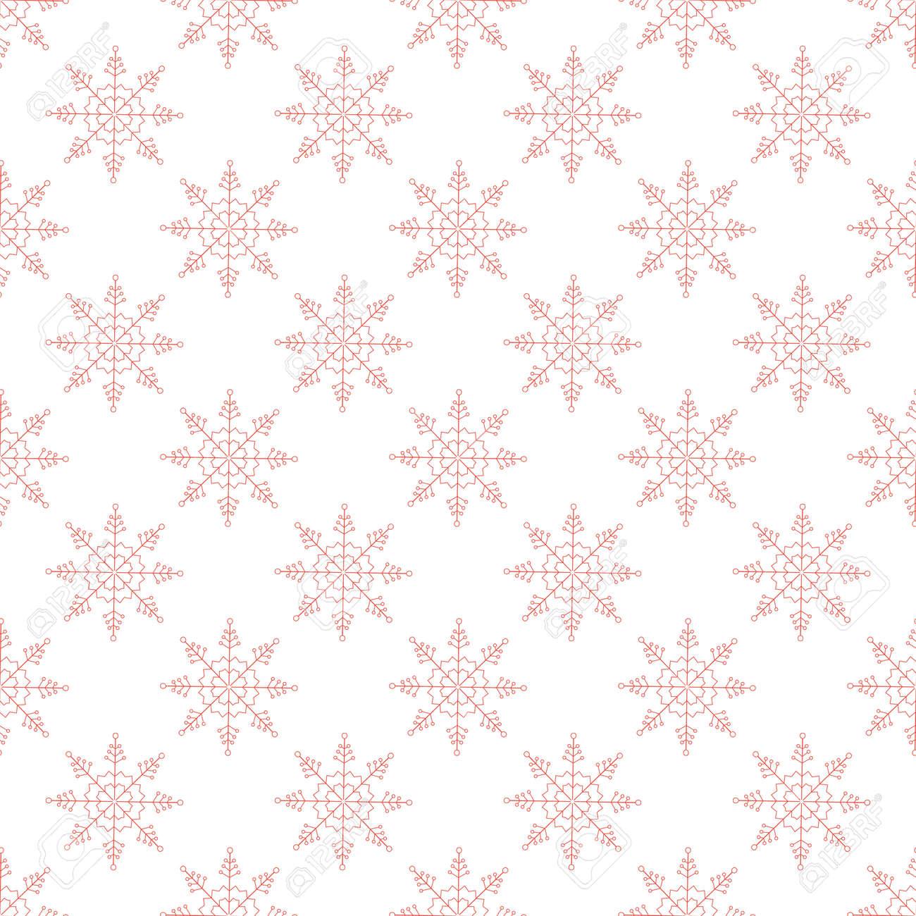 Vector Weihnachten Nahtlose Muster Für Weihnachtskarten Und ...