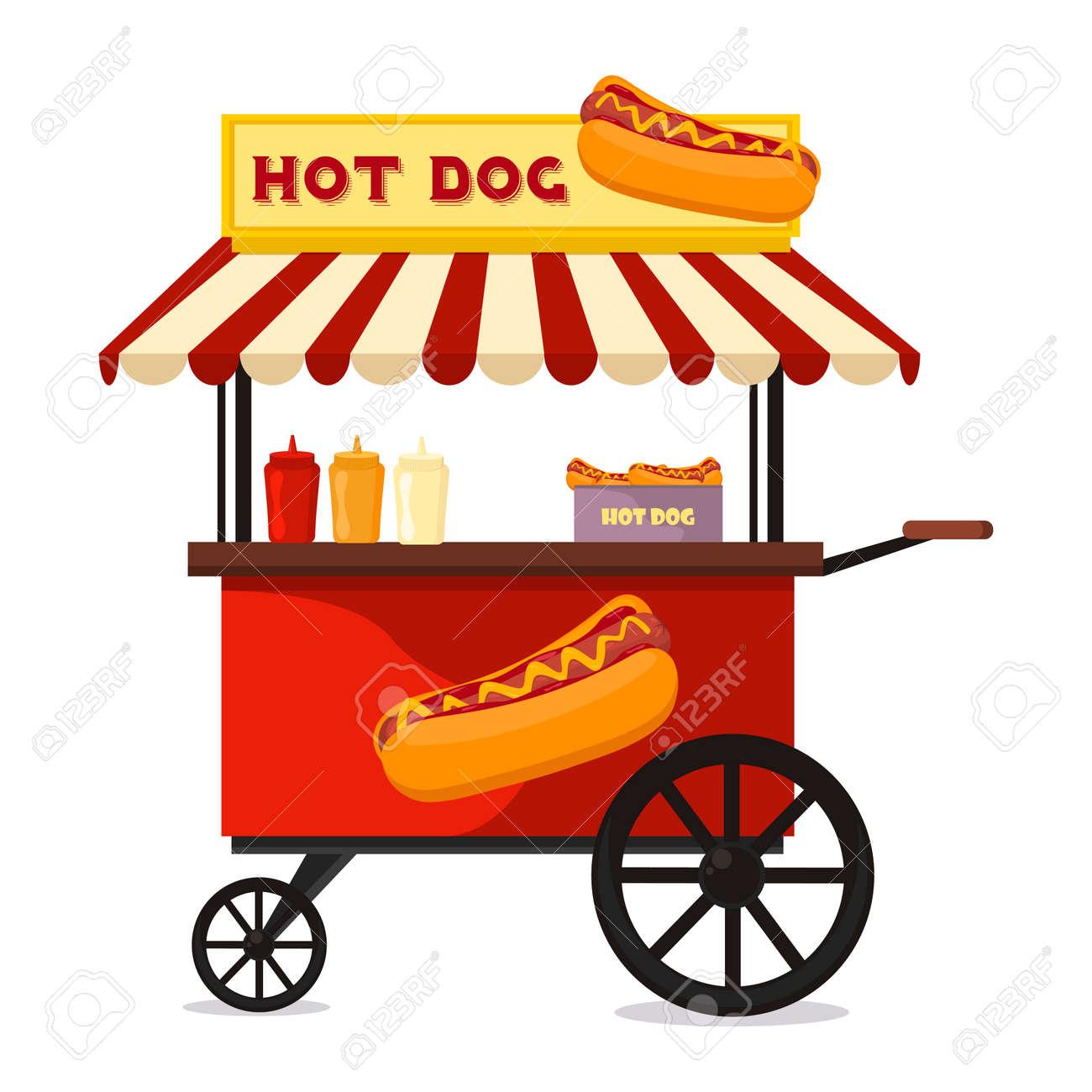 carrito de hot dog