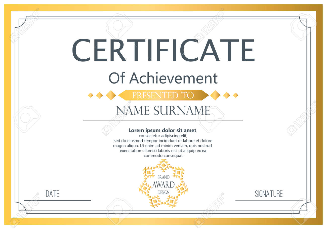 Vector certificate template vector award graduation certificate vector vector certificate template vector award graduation certificate achievement success template border business paper coupon document certificate wajeb Gallery