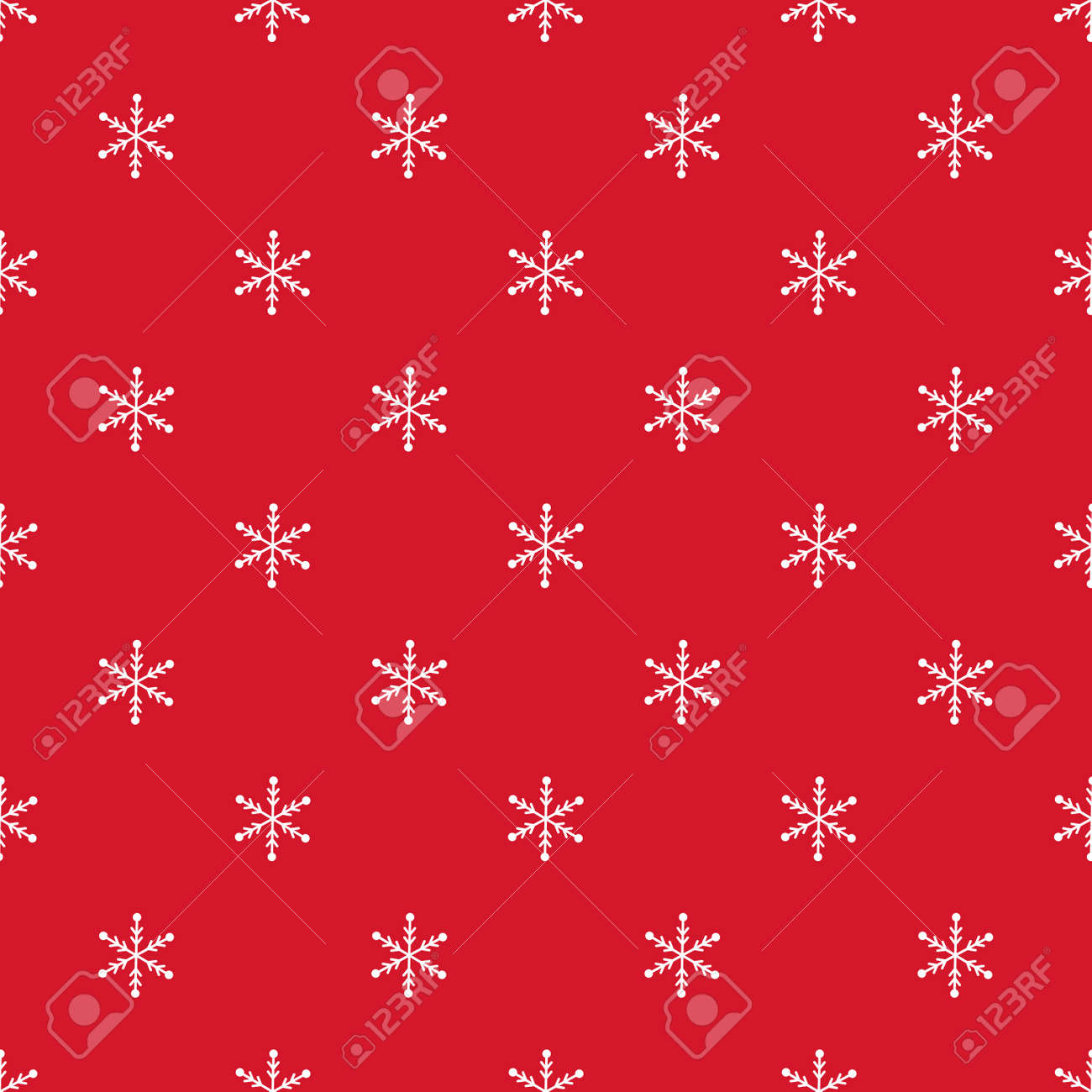 Christmas Snowflake Seamless Pattern Winter Holiday Gift Wrap Royalty Free Cliparts Vectors And Stock Illustration Image 127471719