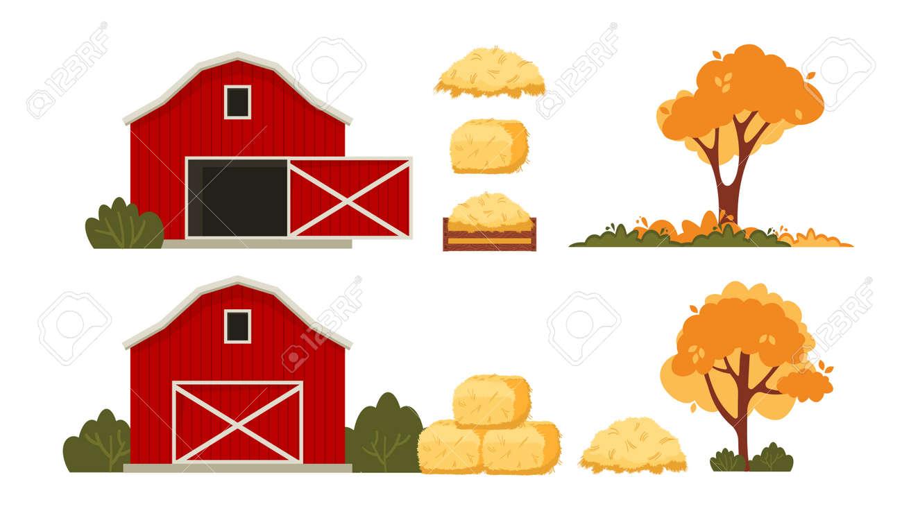 Red barn house Farm - 171814695