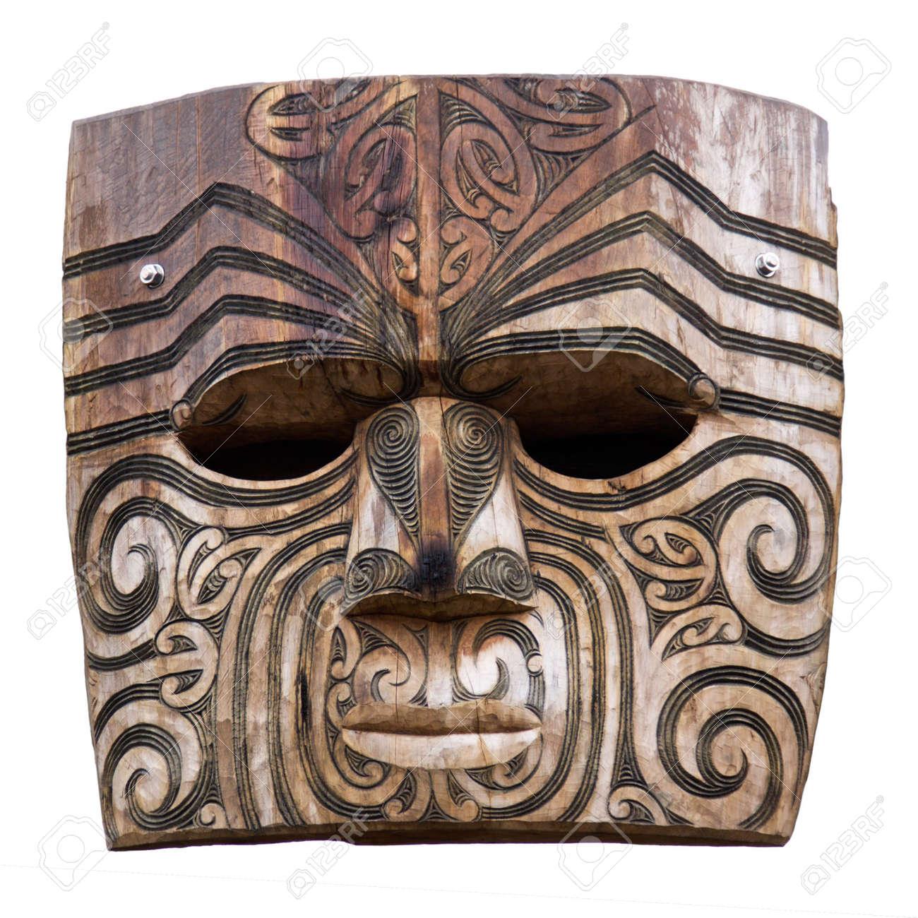 Maori carving Stock Photo - 4786655