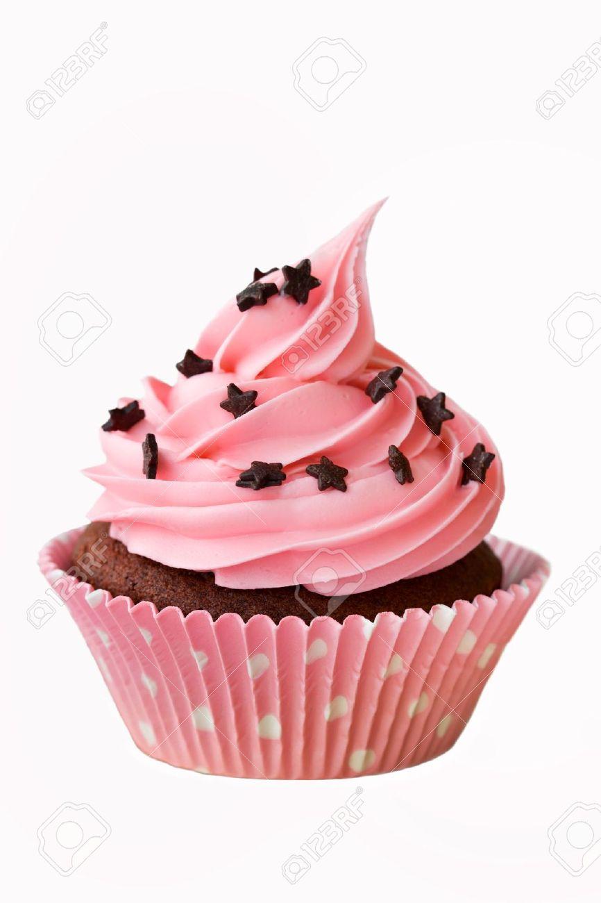 Pink cupcake Stock Photo - 6570035