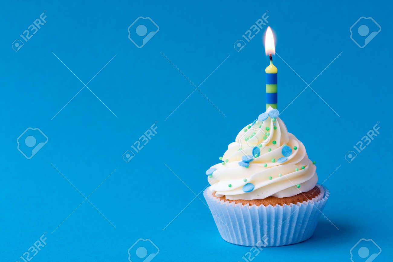 Birthday cupcake Stock Photo - 6679984