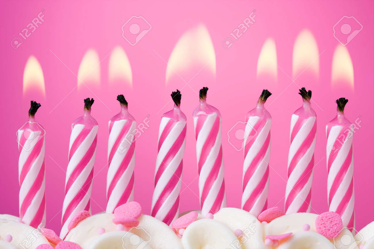 Birthday candles Stock Photo - 6843307