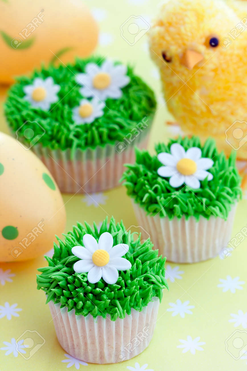 Easter Cupcakes Stock Photo, Picture And Royalty Free Image. Image ...