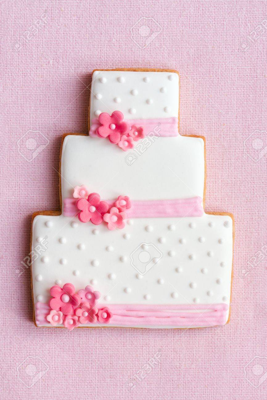 Wedding cake cookie Stock Photo - 9089817