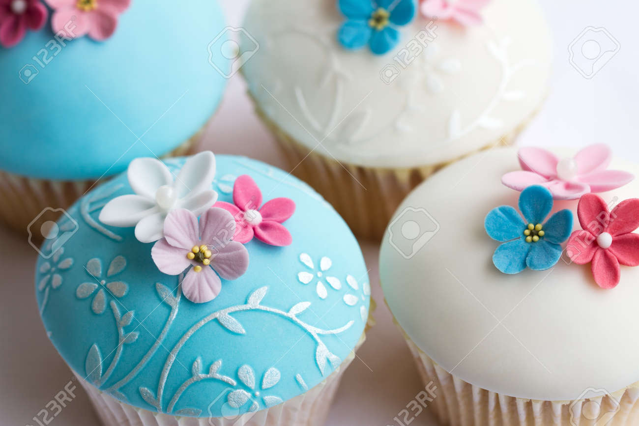 Wedding cupcakes stock photo picture and royalty free image image stock photo wedding cupcakes junglespirit Image collections