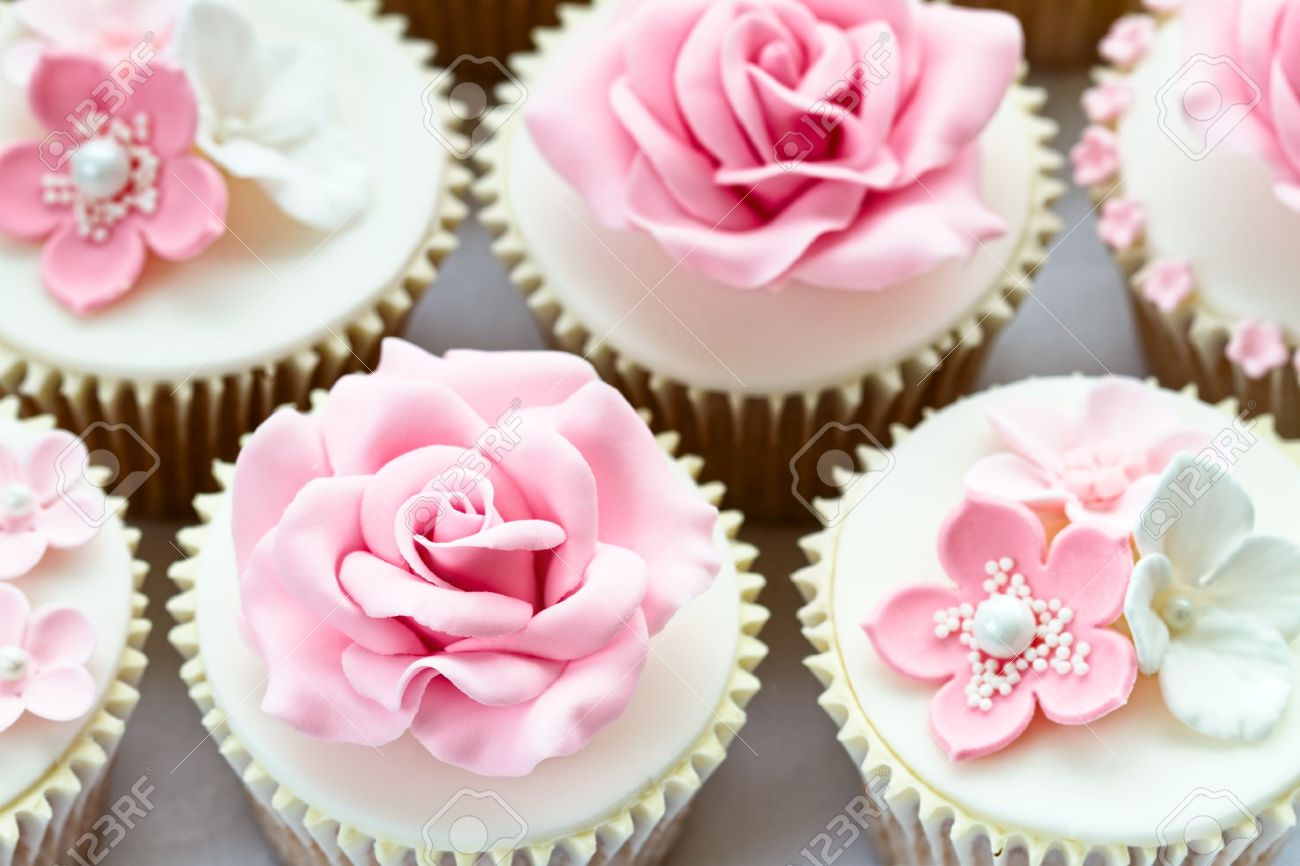 Wedding Cupcakes Stock Photo, Picture And Royalty Free Image. Image ...