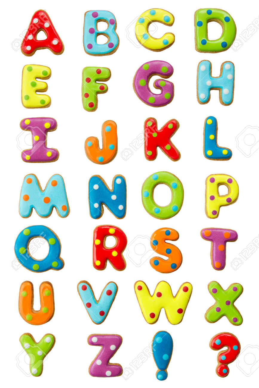 Worksheet Alphabets Letters alphabet letters i stock photos pictures royalty free cookie alphabet