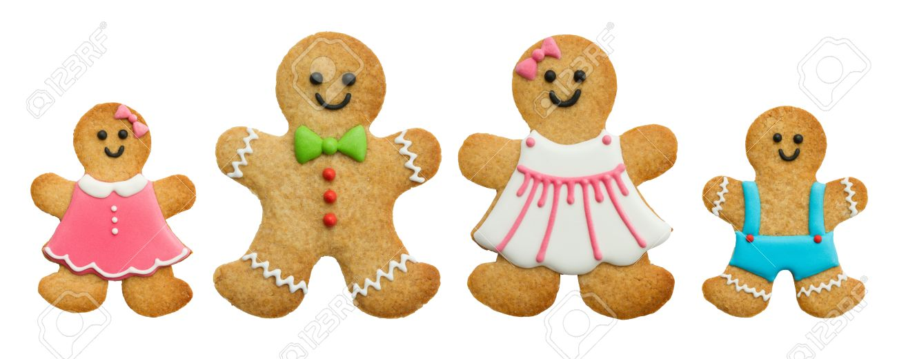 Gingerbread family - 15161720