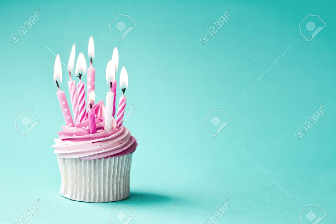 Birthday Cupcake Stock Photo Picture And Royalty Free Image Image
