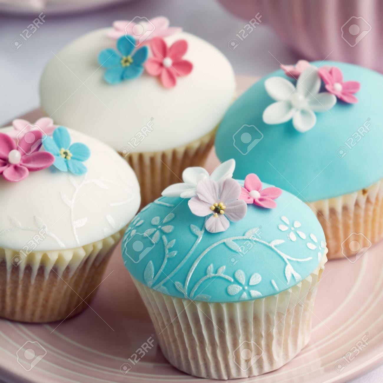 Wedding cupcakes with embossed fondant stock photo picture and wedding cupcakes with embossed fondant stock photo 36084677 junglespirit Image collections