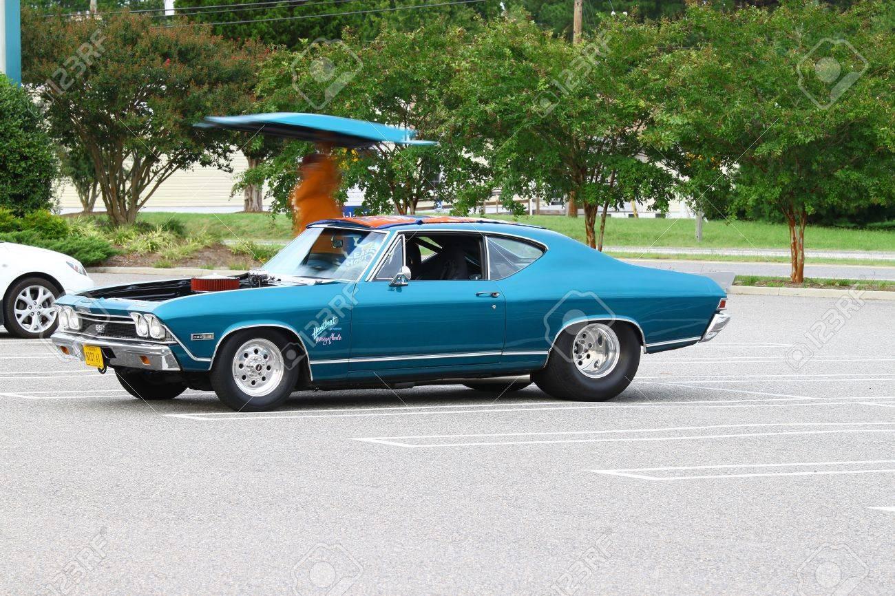 All Chevy 1968 chevrolet chevelle : GLOUCESTER, VA, USA -SEPTEMBER 16: Vintage 1968 Chevrolet Chevelle ...