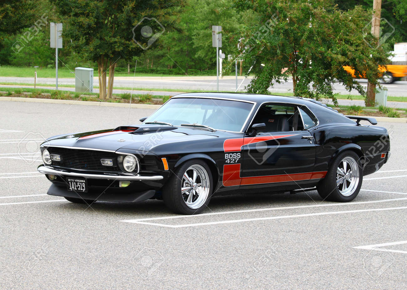 Gloucester va usa september 16 vintage 1970 ford boss 427