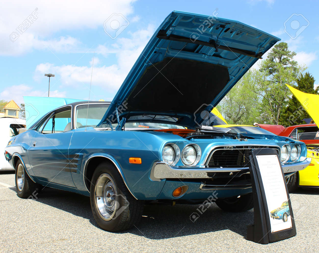 GLOUCESTER VA APRIL 13A 74 Challenger In The Daffodil Car Show Sponsored