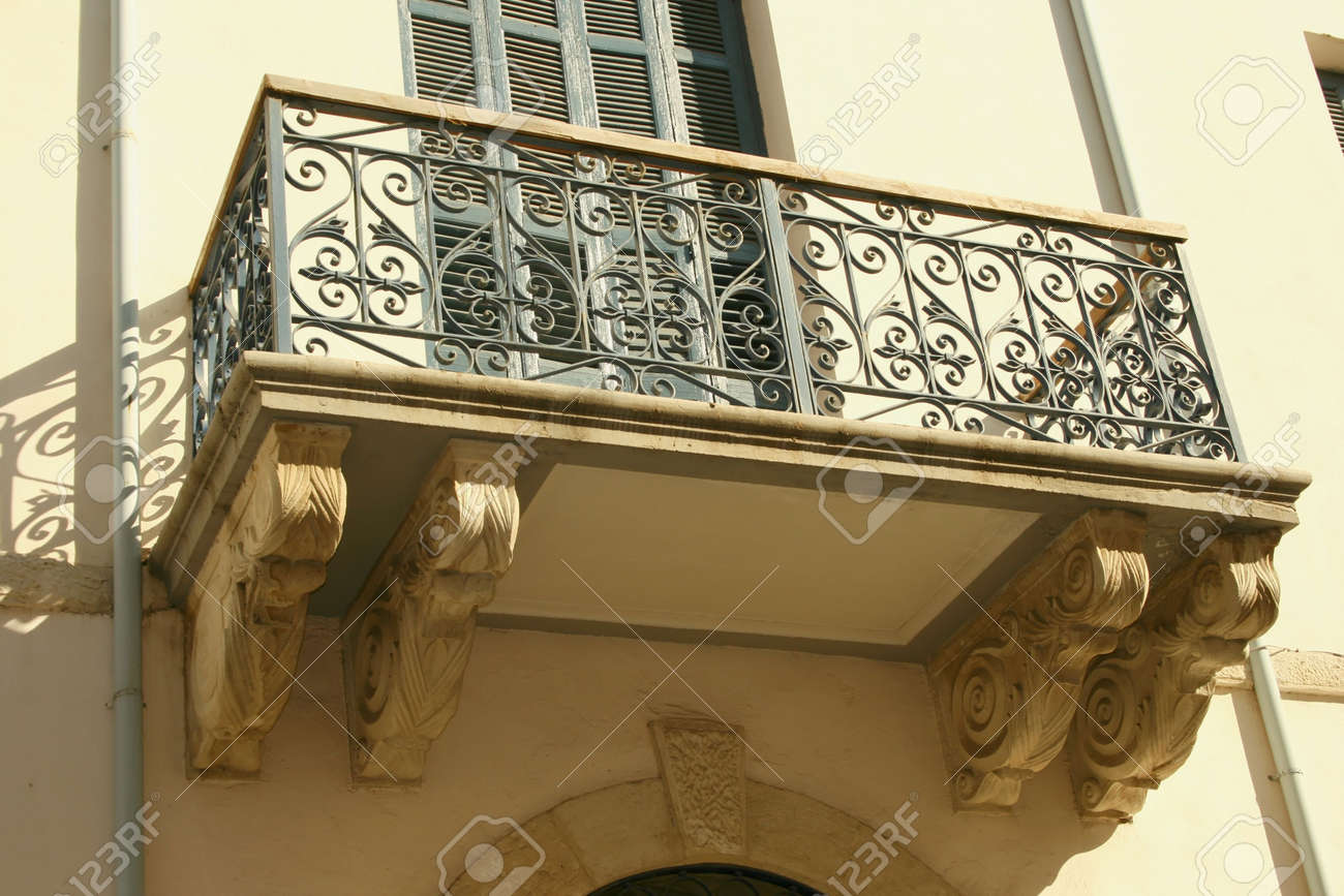 Historic old town building of Limassol in Cyprus. Stock Photo - 1843239