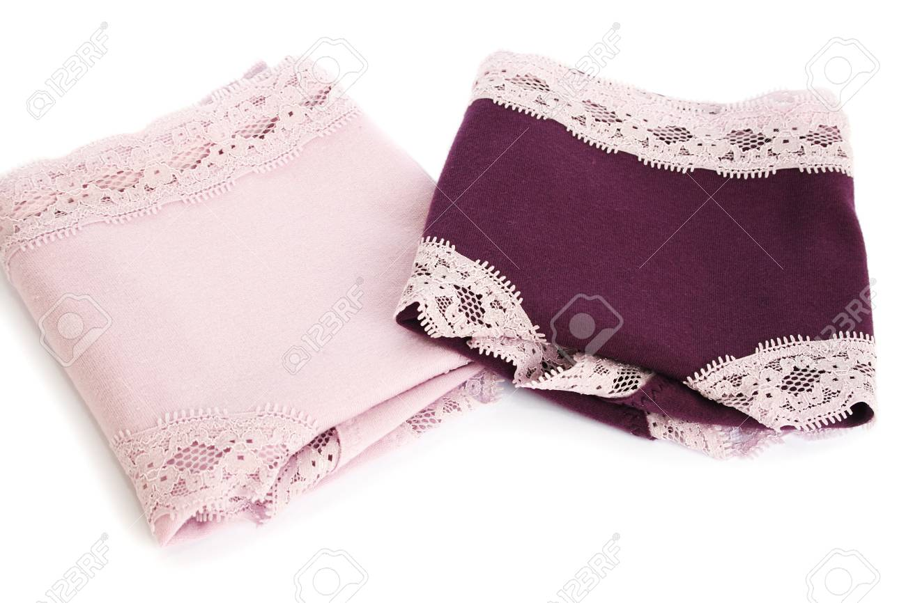 Colorful panties isolated on white background. Stock Photo - 17239080