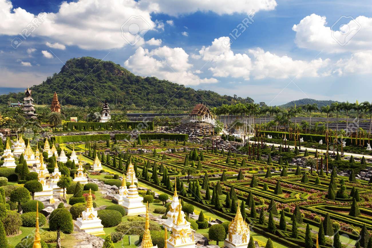 Nong Nooch Garden in Pattaya, Thailand Stock Photo - 18007178