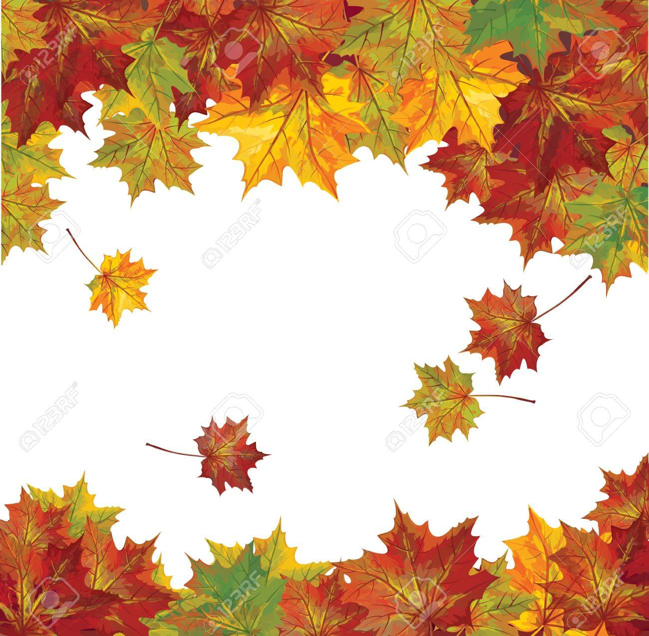 Vector of autumn colorful leaves Stock Vector - 14416724