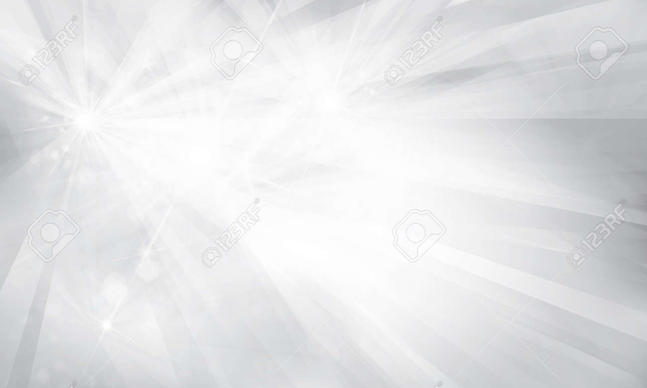 Vector silver background with rays and lights. - 50908935