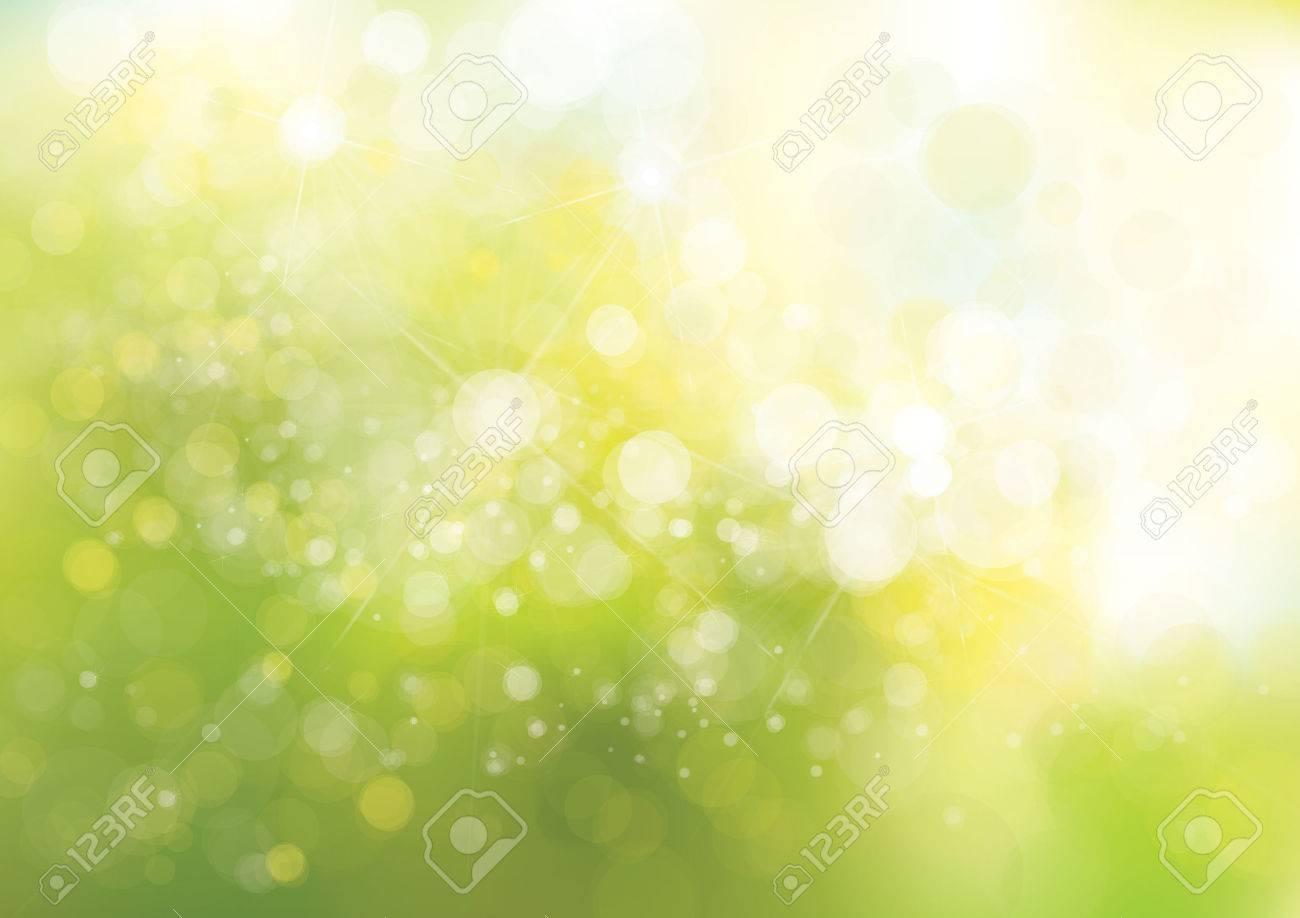 Vector green lights background. - 53316840