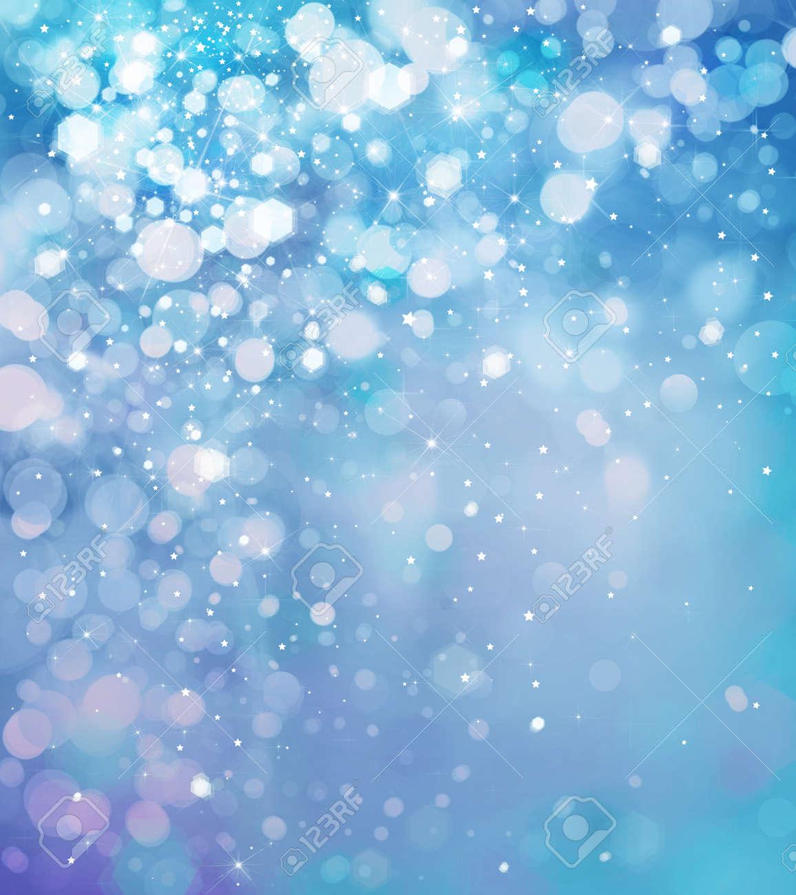 e138ca23c297a Abstract Blue Sparkle