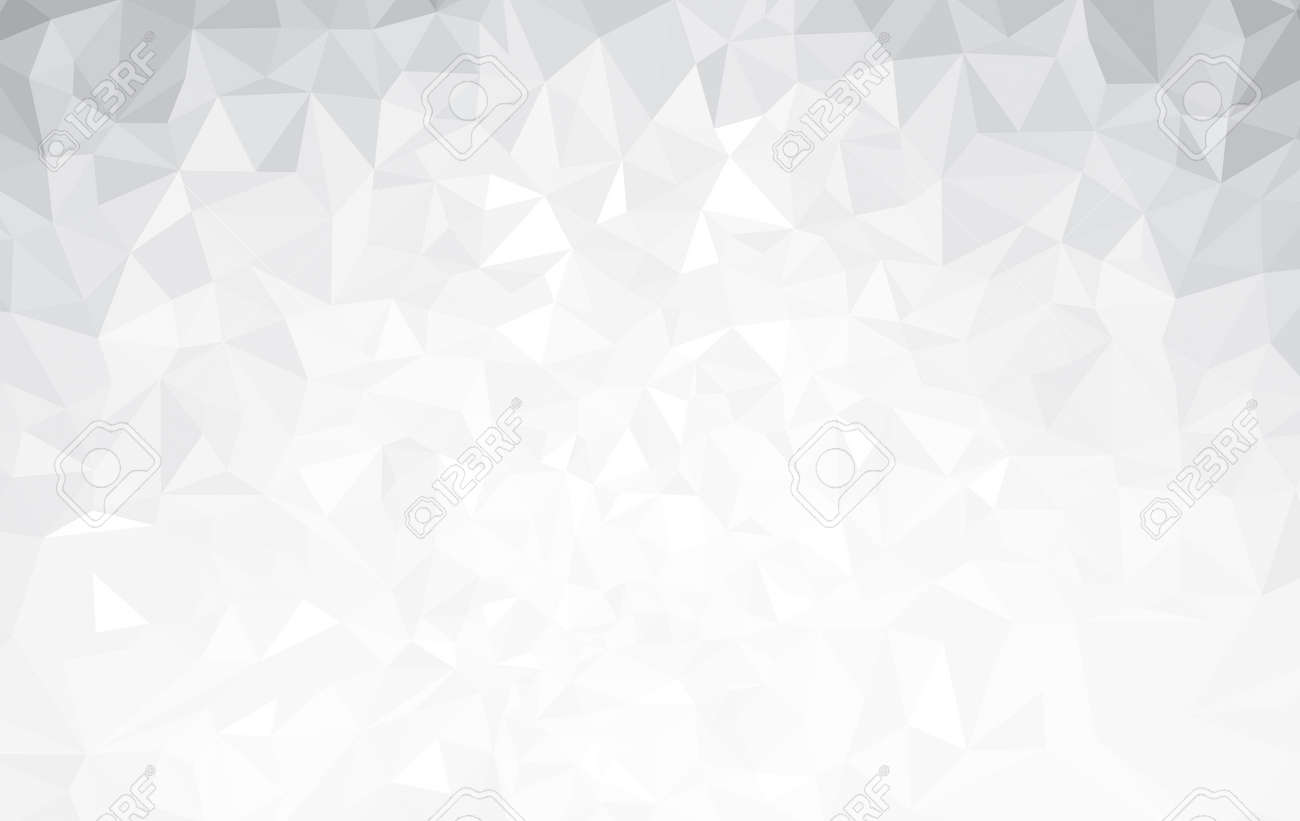 Vector abstract gray, triangles background. - 61885369