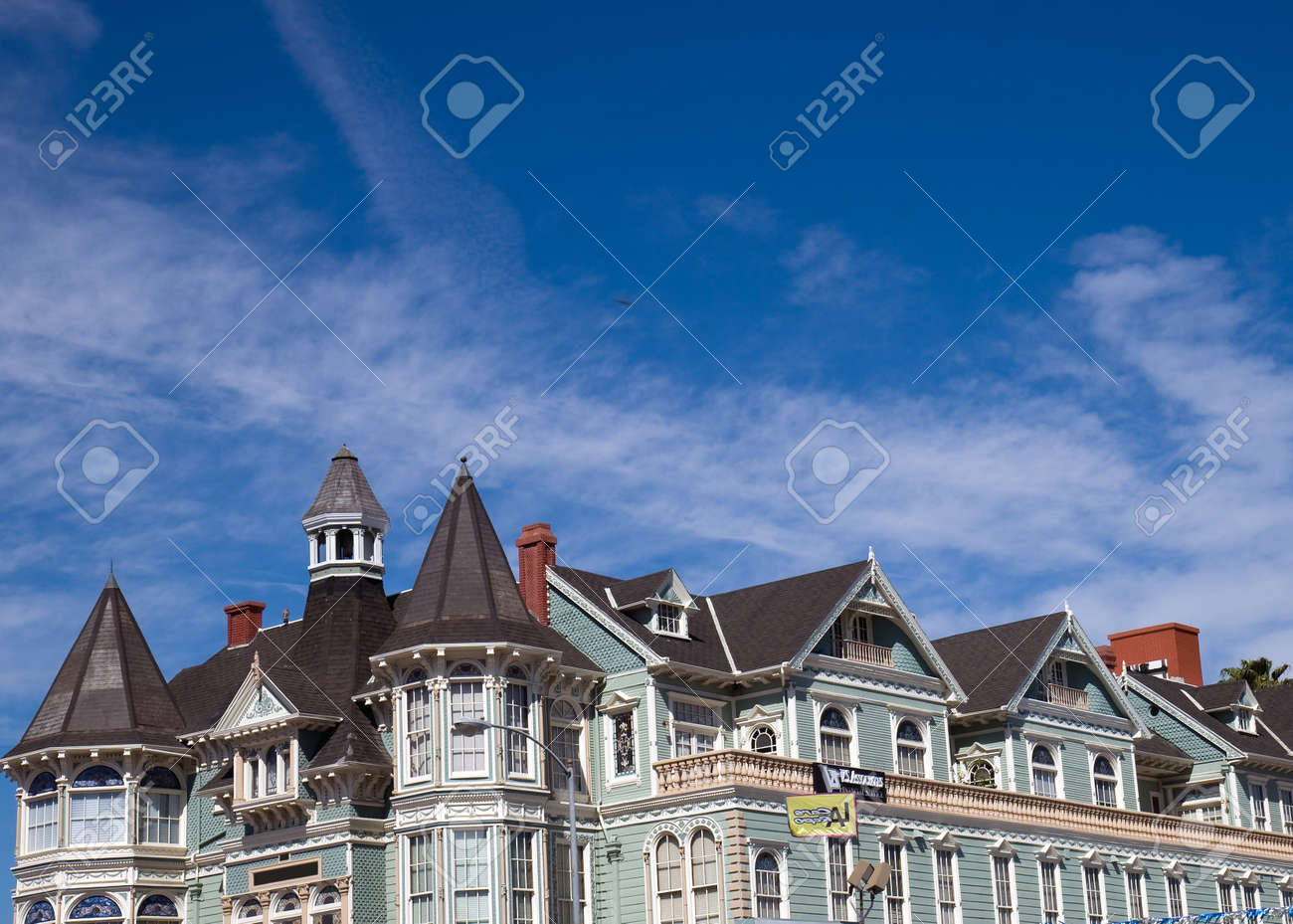 House and blue sky Stock Photo - 13182576