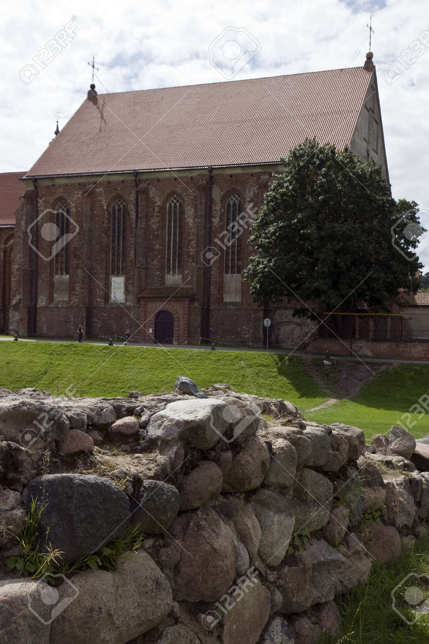 Church with red roof Stock Photo - 14853174
