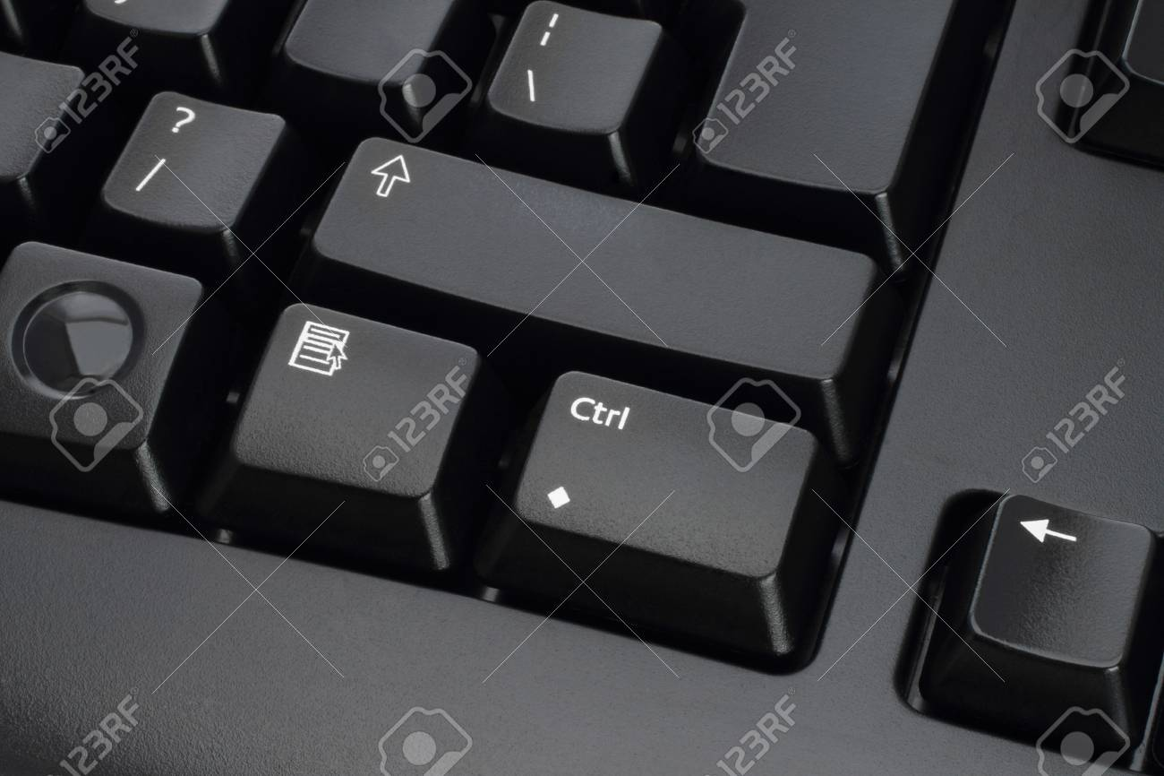 Keyboard keys close-up on a white background Stock Photo - 13060269