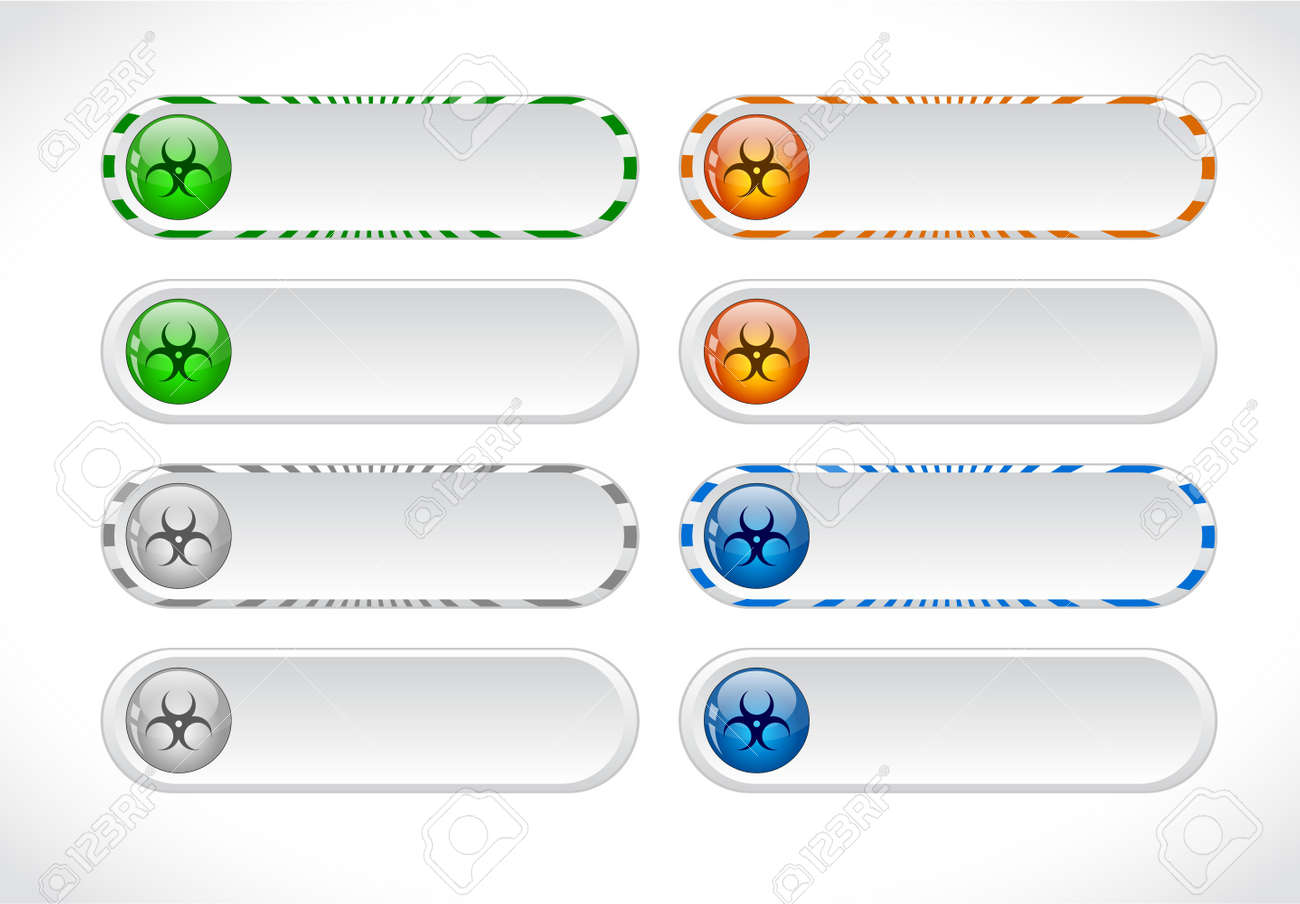 Buttons for web. Stock Photo - 7380192