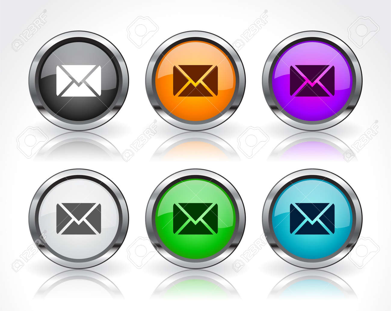 Buttons for web. Stock Photo - 7588693