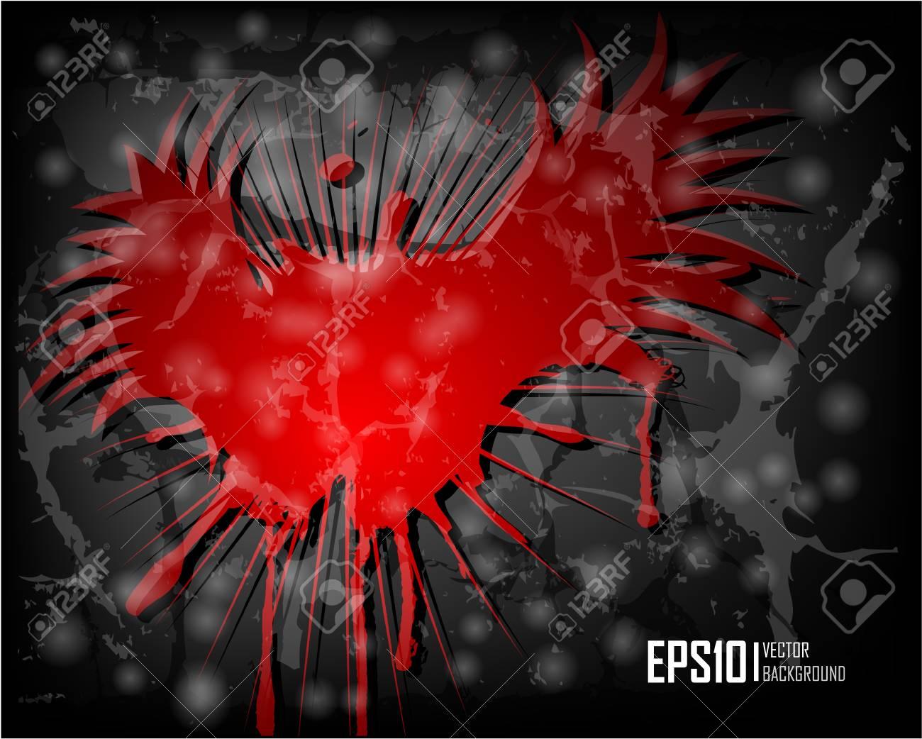 Dark scratch grunge background. Vector illustration eps10 Stock Vector - 10232656
