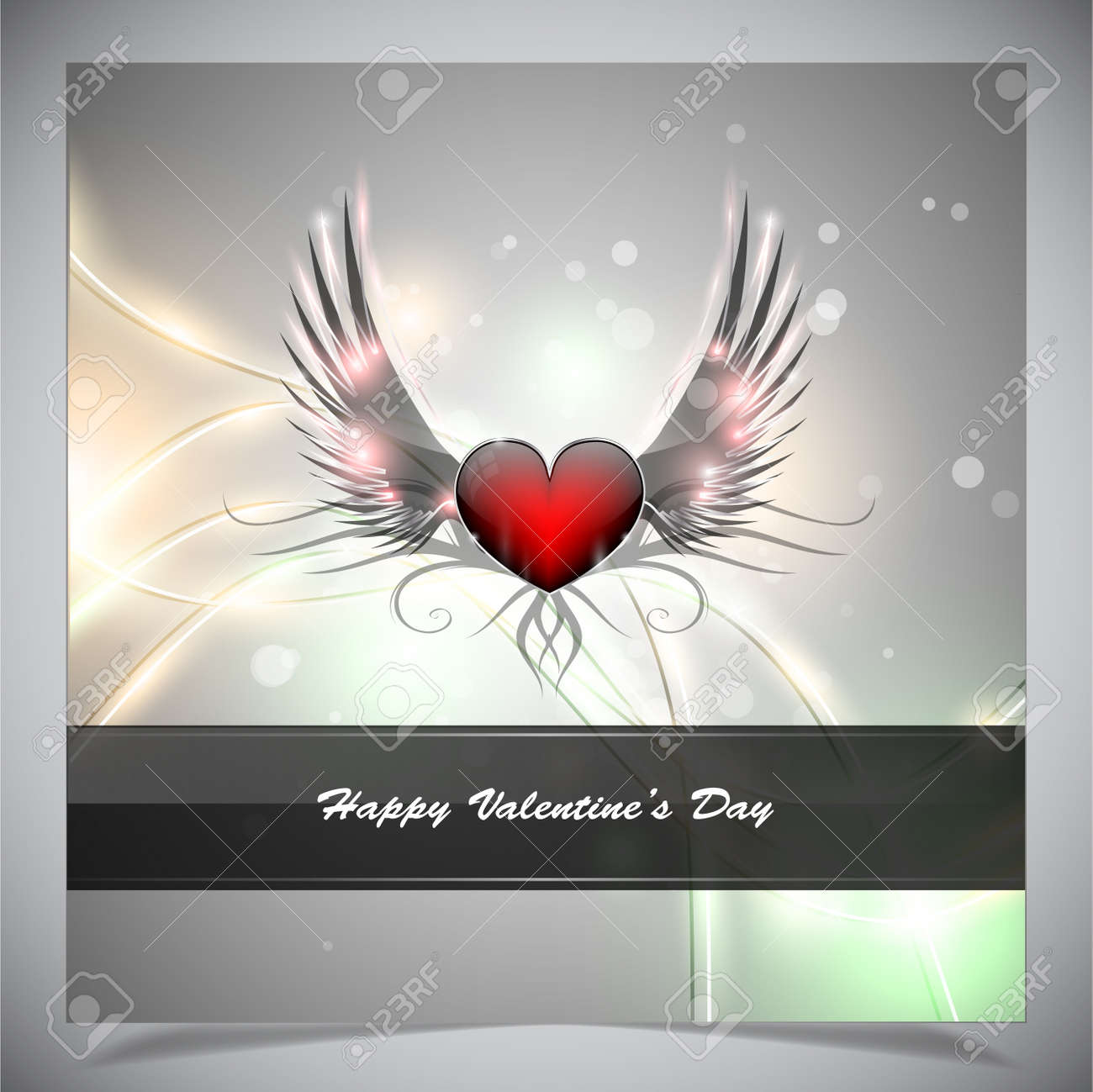 Abstract valentine days background Stock Vector - 17297463