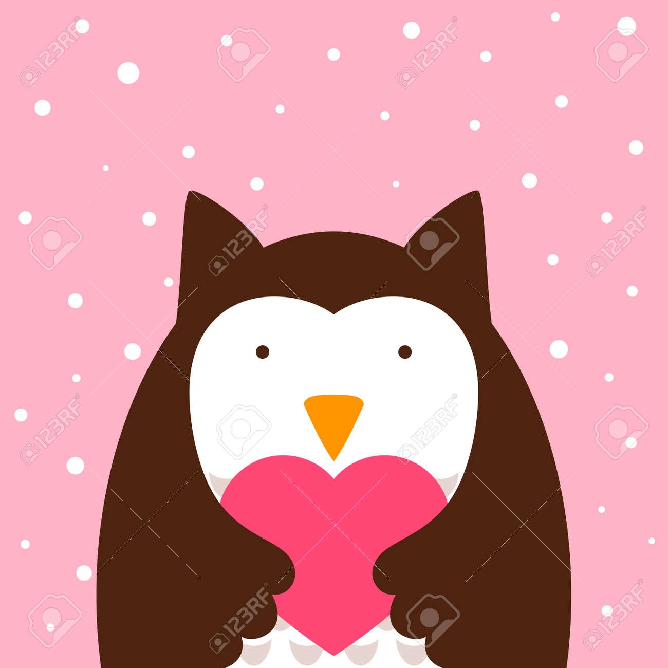 Cartoon Cute Owl 40ad63744ac4