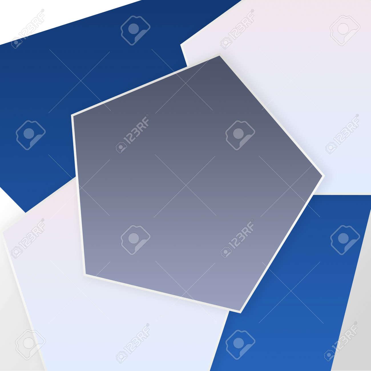 Modern Cool Empty Pentagon Design Background Template-For Banner, Poster, Card & Social Media - 152384659