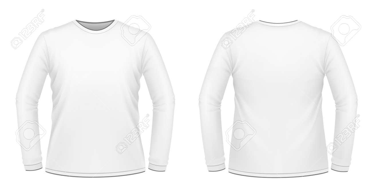 Long Sleeve T Shirt White
