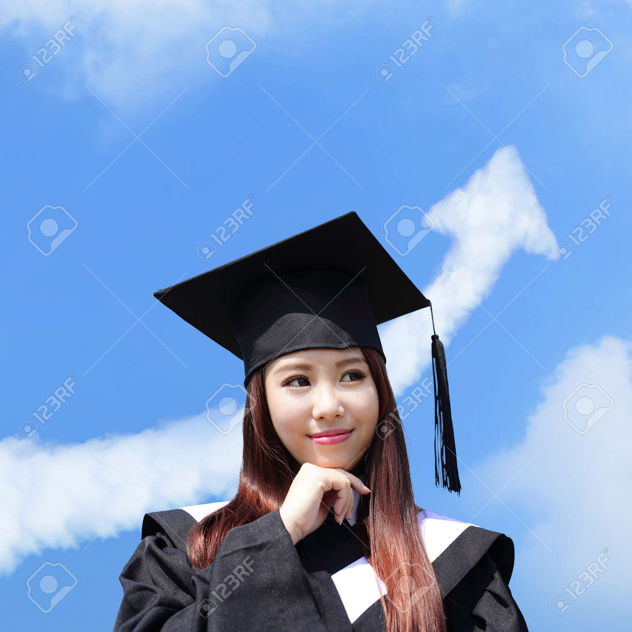 How to dress up a graduation girl in kindergarten 29