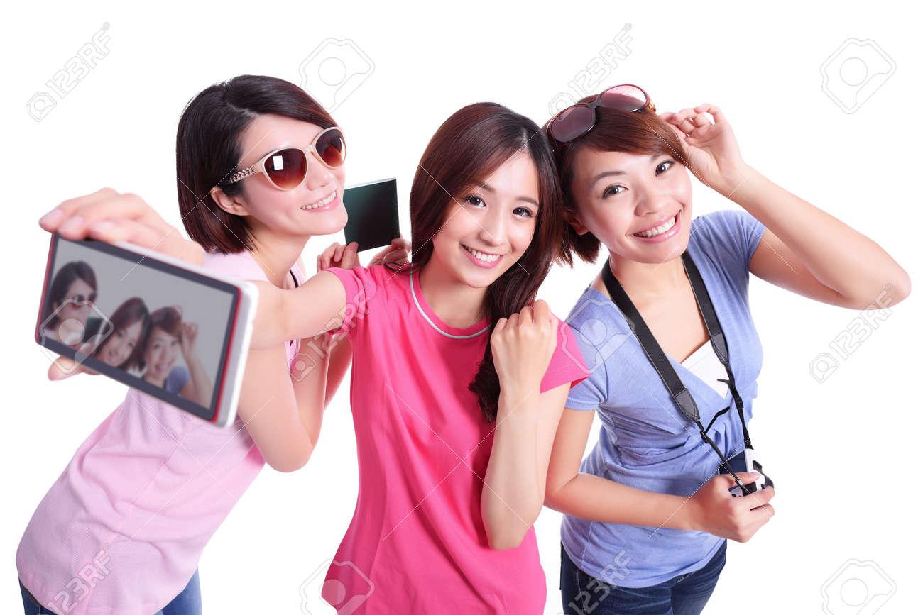 Fotos van tieners