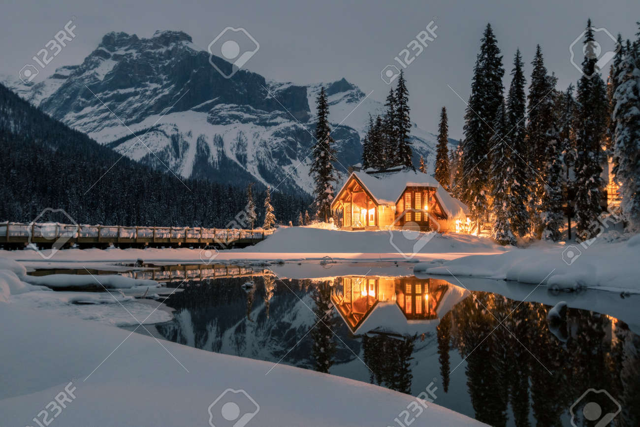 The lodge is twenty minutes west of Lake Louise. Originally built in 1902 by the Canadian Pacific Railway, this historic property includes 85 comfortable units situated in 24 chalet-style cabins. - 118082672